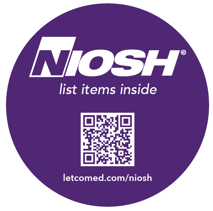 NIOSH list items inside